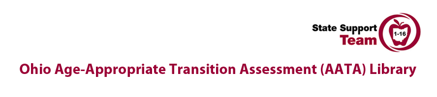 image relating to Printable Transition Assessments named Ohio Age-Related Changeover Analysis (AATA) Library